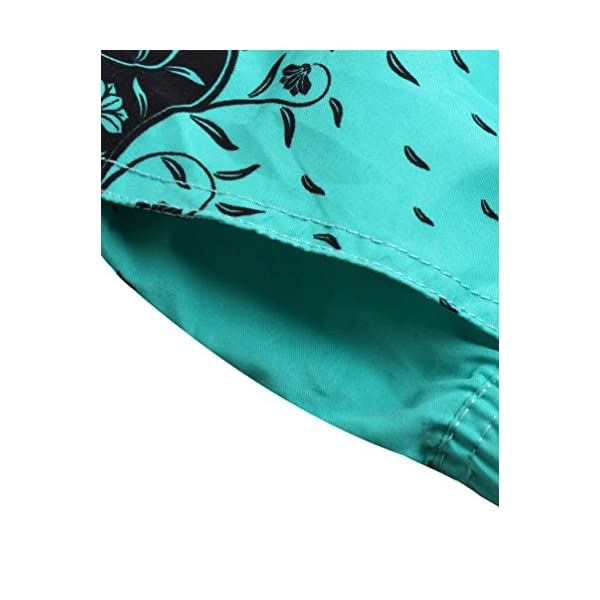 Lau's Pantaloncini da bagno per donna - Short da bagno coulisse con stampa floreale 7 spesavip