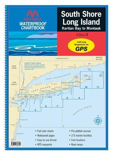 Maptech Waterproof Chart Book - South Shore Long Island