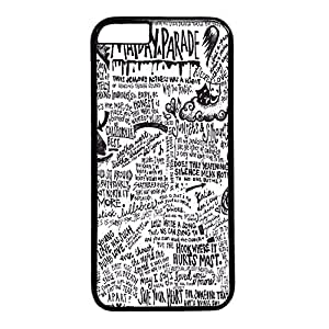 Custom hong hong case iPhone 6 Case, Peace, Love, and Mayday Parade Hard Plastic Case for iPhone 6 Case