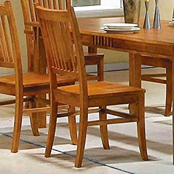 Amazoncom Coaster Home Furnishings 104262 Country Dining Chair