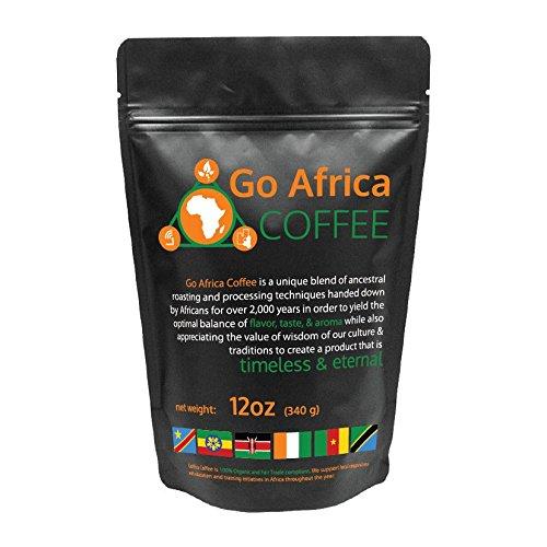 Go Africa Coffee 12 Oz Bag (Whole Bean) Dark Roast