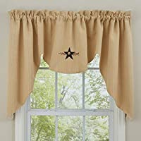 "Park Designs Star Vine Lined Swag, 72 x 36"" (307-46)"