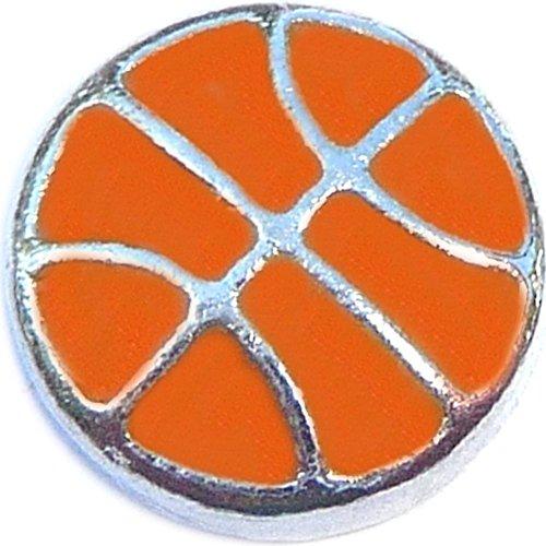 Basketball Floating Locket Charm (Owls Basketball)