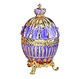 Design Toscano The Regal Purple Collection Romanov Style Enameled Egg: Tassel