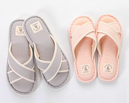 Comfortabele Herenhuisjes Van Cattior Heren Indoor Spa Slippers Open Teen Grijs