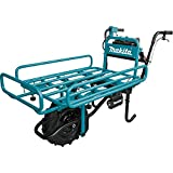 Makita XUC01PTX2 18V X2 LXT Lithium-Ion Brushless Cordless Power-Assisted Flat Dolly Kit (5.0Ah)