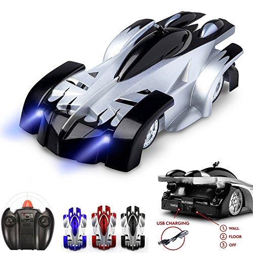 - SZJJX  Climbing RC Car Home Vehicle Radio Control Mini Gravity Remote Control Car Kids Electric Toy RC Vehicle Stunt Car-Black