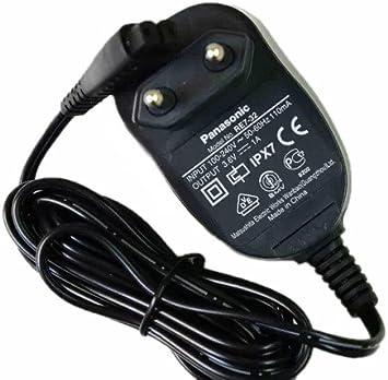 Panasonic-Afeitadora Cable de alimentación y base de carga para RE ...