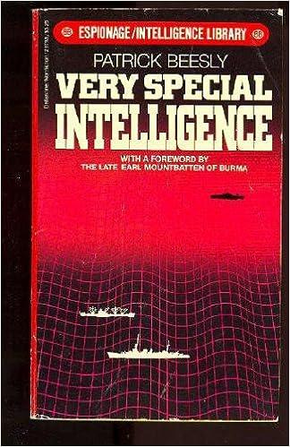 Read Very Special Intelligence PDF, azw (Kindle), ePub, doc, mobi
