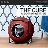【MEYOU】THE CUBE ザ キューブ キャットハウス (シャンパン)