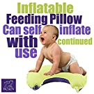 Airbornbaby Feeding Nursing Pillow for Baby, Travel Newborn Lounger Reflux Positioner