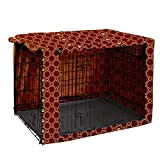 "Dog Crate Cover Durable Polyester Pet Kennel Cover Universal Fit for Wire Dog Crate - Fits Most 30"" inch Dog Crates - Cover only -  Pethiy"