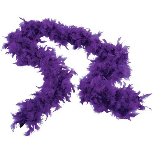 FEATHER BOA/PURPLE (CP), Sold By Case Pack