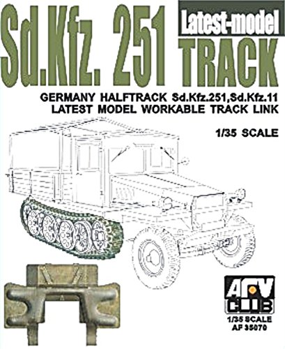 Track Links Afv Club - SdKfz 251 Halftrack Workable Track Links Latest Type 1-35 AFV Club