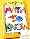 Math to Know Book A, GREAT SOURCE, 066950047X