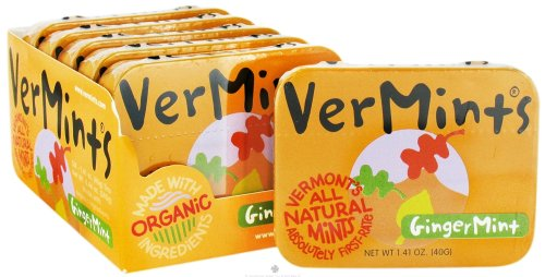 Vermints Candy Gingermint All ()