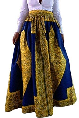 Full Skirt Print Skirt - 6