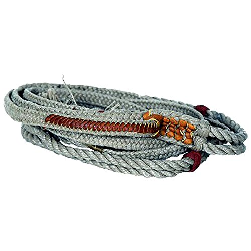 Saddle Barn Standard Stock Bull Riding Rope 9 Plait Right and Left Hand ()