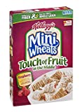 Kellogg's Frosted Mini Wheats Touch Of Fruit In The Middle Raspberry Cereal 15 OZ (Pack of 20)