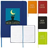 Good Value 5? x 7? Journal Notebook Red 100 Pack