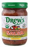 Drews Organic Medium Quinoa Flax and Chia Salsa, 12 Ounce -- 12 per case.