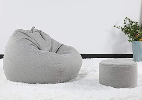 Astounding Amazon Com Lazy Sofa Bean Bag Chair Sack Floor Chairs With Andrewgaddart Wooden Chair Designs For Living Room Andrewgaddartcom
