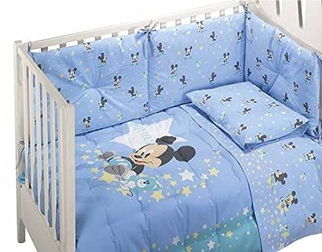Piumoni E Paracolpi Caleffi.Caleffi Disney Baby Trapunta E Paracolpi Per Lettino Culla Con