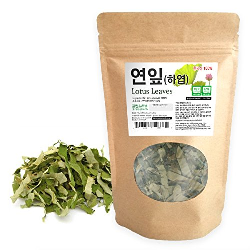 [Medicinal Korean Herb] Lotus Leaves (Heye/연잎) Dried Loose Leaves 2oz (57g)