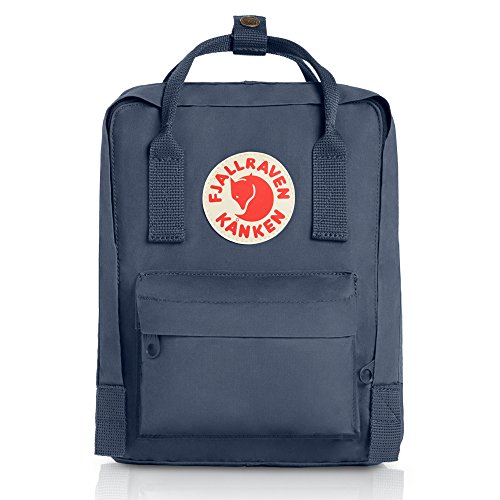 Fjallraven - Kanken-Mini Classic Pack, Heritage and Responsibility Since 1960, Graphite
