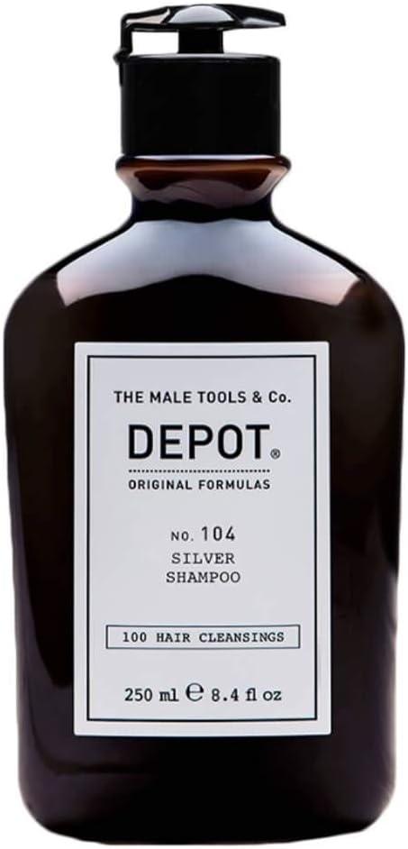 DEPOT NO. 104 SILVER SHAMPOO PER CAPELLI GRIGI, BIANCHI O DECOLORATI 250 ML