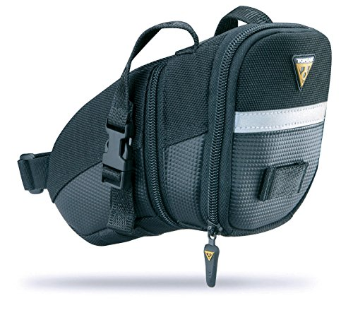- Topeak   TC2261B Aero Wedge Pack with Strap Mount, Medium