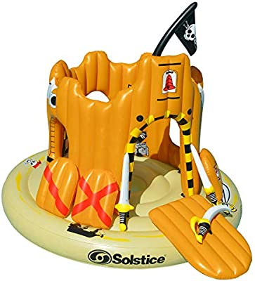 Amazon.com: Solstice inflable gigante flotante pirata ...