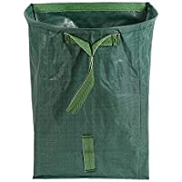 SODIAL Large Yard Dustpan-Type Garden Bag for Collecting Leaves - Reuseable Heavy Duty Gardening Bags, Lawn Pool Garden Leaf Waste Bag