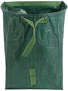 NO BRAND Tuneway Bolsa de JardíN Tipo Recogedor de JardíN Grande para Recoger Hojas: Bolsas de JardineríA Reutilizables de Servicio Pesado, Bolsa de Desechos de Hojas de JardíN: Amazon.es: Hogar