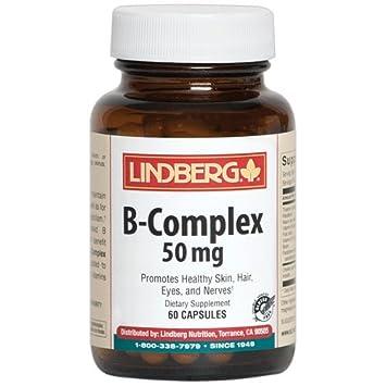 Lindberg Vitamin B-Complex 50 mg, 60 Capsules