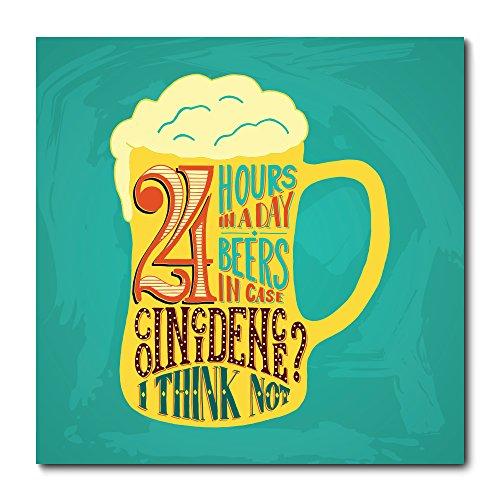 Placa Decorativa - Beer - Cerveja - 1875plmk