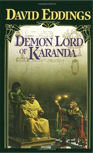 book cover of Demon Lord of Karanda