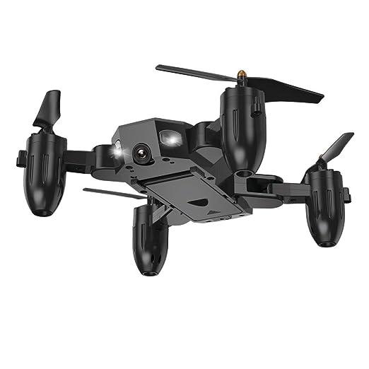 Lispeed - Drone teledirigido (4 Canales, WiFi, 6 Ejes, Plegable ...