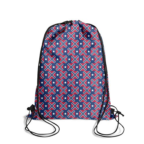 ZKGOD Blue Cool Taxes Flag Popular Classic Durable Drawstring Bag for Hiking Yoga Gym Travel Beach School