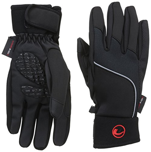 Ultrasport Handschuhe mit Touchscreen Funktion, schwarz, L, 49003
