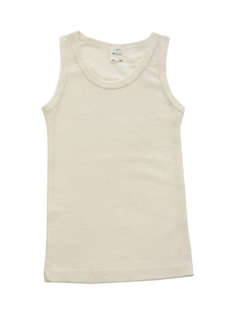 Hocosa Big Kids Organic Wool Sleeveless Undershirt