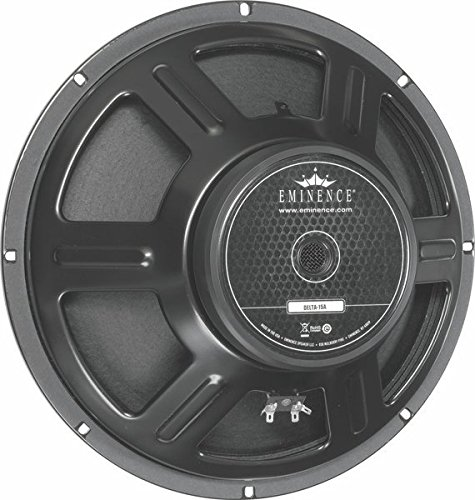 """Eminence American Standard Delta 15A 15"""" Pro Audio Speaker, 400 Watts at 8 Ohms from Eminence"""