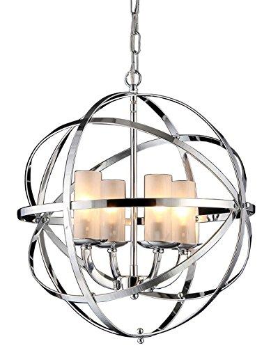 Whse of Tiffany RL8045 Qadira 4-Light Chandelier, 18
