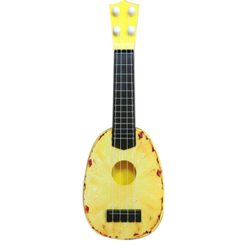 Lookatool niños aprender guitarra ukelele Mini fruta puede tocar ...