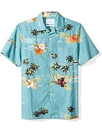 Men's Standard-Fit 100% Cotton Hawaiian Shirt