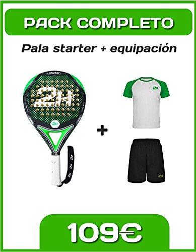 Pack 2H STARTER: Pala Starter + Equipación