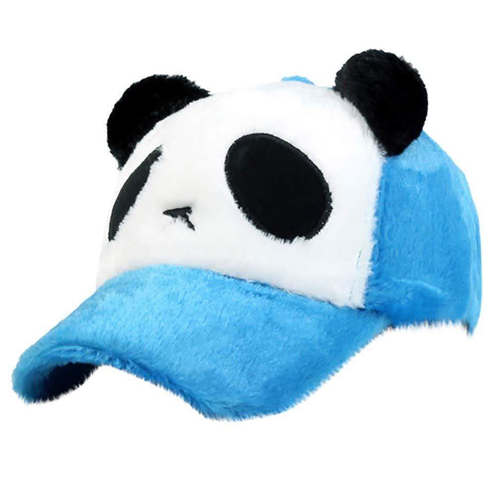 MERICAL Moda Mujer al Aire Libre Llano Vintage Panda Gorra de ...