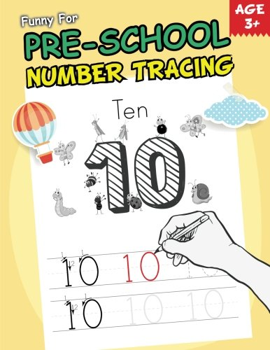 Funny For Pre-School Number Tracing Practice(Number 0-20) - (Handwriting Practice & Tracing Book For Kids): Tracing BookFor Kids (Volume 1)
