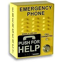 VIKING ELECTRONICS EMERGENCY PHONE COMPACT VANDAL RESISTANT / E-1600-45A-EWP /