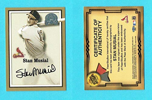 stan musial auto - 3